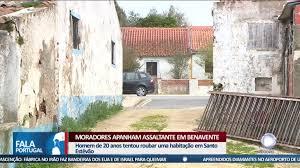 Moradores apanham assaltante em Benavente