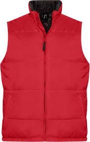 <b>Жилет</b> Sol's <b>WARM красный</b>, <b>размер</b> XL