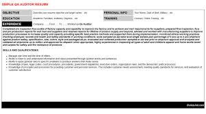 resume external auditor cover  tomorrowworld coresume external
