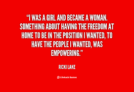 Ricki Lake Quotes. QuotesGram via Relatably.com