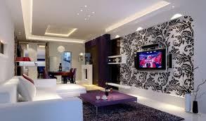 Purple Living Room Design Minimalist Dining Room With Purple Cabinet Interior Design