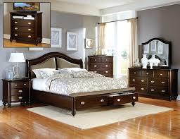 bedroom sets storage wood