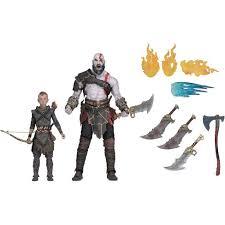 <b>God Of</b> War 2018 Ultimate Kratos & Atreus <b>7</b> Inch Scale Action ...