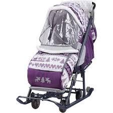 Купить детские <b>санки</b>-<b>коляски</b> в интернет-магазине Lookbuck