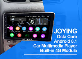 JOYING <b>8'' Universal Android 8.1</b>.0 Bluetooth 1 Din <b>Car</b> GPS Head ...