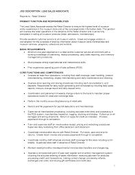 s resume associate resume retail s resume retail s associate job description resume badak