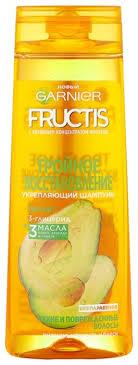 <b>GARNIER Укрепляющий шампунь Fructis</b> Тройное Восстановление