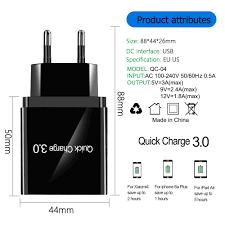 <b>Olaf</b> 4 <b>USB</b> Charger Quick charge 4.0 <b>3.0</b> For Samsung A50 Xiaomi ...