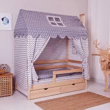 """<b>Комплект в кроватку Incanto</b> """"Домик"""", серый   Купить с доставкой ..."""