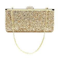 Womens Ladies <b>Evening Party Clutch Bag</b> Glitter Shimmer Style ...