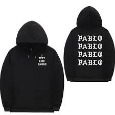 <b>I Feel Like Pablo</b> Yeezus Tour Replica Hoodie – The Lion Chain ...