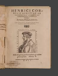 cambridge authors marlowe doctor faustus and magic the title page of heinrich cornelius agrippa of nettesheim de occulta philosophia libri tres