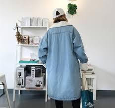 <b>Lisa Colly</b> brand <b>autumn winter</b> jacket coat women Holes Denim ...