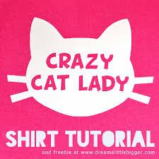 <b>Crazy Cat Lady</b> Shirt Tutorial ⋆ Dream a Little Bigger