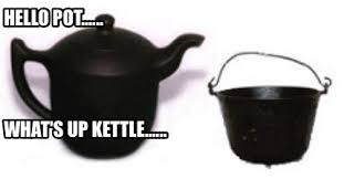 Hasil gambar untuk pot kettle black