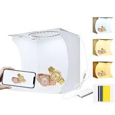 <b>Puluz</b> pu5023 <b>20cm</b> ring light portable <b>foldable</b> mini shooting tent ...