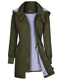 Bloggerlove Women's Rain Jacket Waterproof ... - Amazon.com