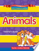 Early Childhood Themes - <b>Animals</b> - <b>Complete</b> Set - Teacher ...