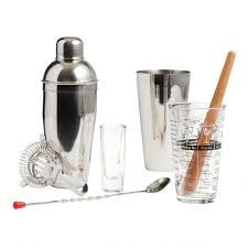 Mixologist Home <b>Bar</b> Tool <b>9 Piece Set</b> | World Market