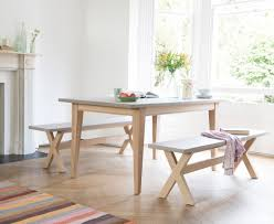 Kitchen Tables Sets For Conker Concrete Top Kitchen Table Loaf