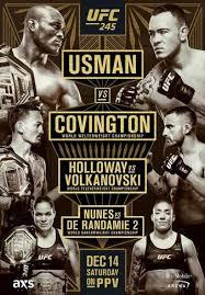 Amanda Nunes vs. Germaine de Randamie II, UFC 245 | MMA Bout ...