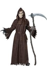 <b>Adult Men Ancient</b> Reaper Halloween Costume Ominous Hooded ...
