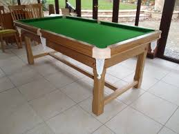 7ft dining table: farmhouse ft snooker dining table made of oak view view