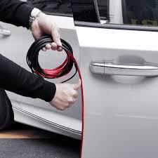 <b>Car Styling Door Protection</b> Strips Rubber Edge Doors Moldings ...