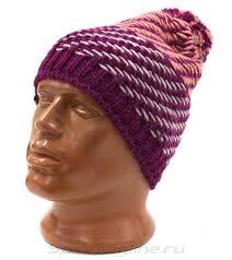 <b>Шапка Buff Knitted&Polar</b> Hat Nella Purple Raspebrry, арт ...
