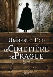 LE CIMETIERE DE PRAGUE (couverture)