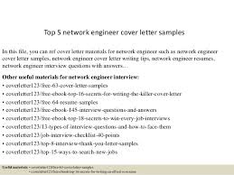 top  network engineer cover letter samplestop  network engineer cover letter samples in this file  you can ref cover letter