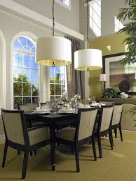 Transitional Dining Room Tables Lighting For Each Room Learn Decor In The Dining Iranews