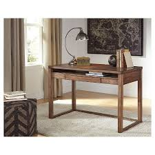 next baybrin rustic brown home office small