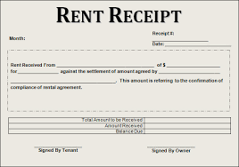 best photos of make a rent receipt  money rent receipt book  rent receipt template