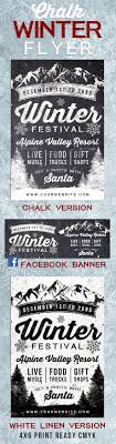 17 best images about marketing postcards flyers chalk winter festival flyer