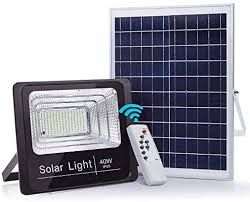 40W <b>Solar</b> Powered Street Flood <b>Lights</b>, <b>79</b> LEDs Dusk to Dawn ...