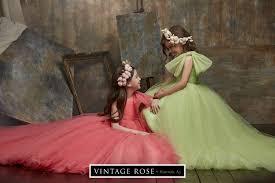 Vintage Rose by Hannah Aj: Luxury <b>flower girls</b> dresses