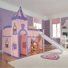bedroom kid: interesting fairy themes bedroom  bedroom beauteous bedroom decorating with pink bunk bed ideas combine kids playground and wooden floor as well as white rug design for delightful kid bedroom paint ideas inspiring and delightful kid x