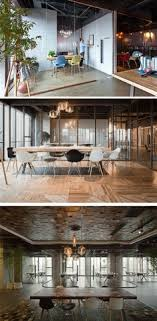 wood glass and concrete play an important role in this office interior design campaign monitor office office snapshots