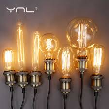 <b>Vintage Hemp RopePendant</b> Light Retro hanglamp lamparas AC90 ...