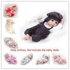 <b>FIT</b> FOR <b>10</b>-11'' <b>Reborn Baby Dolls</b> Outfit Clothes Boy Girl Doll ...