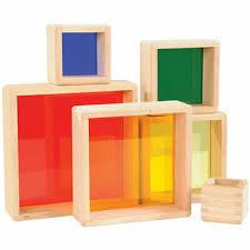 Stacking Transparent <b>Rainbow</b> Pyramid Set 716243050664 | eBay
