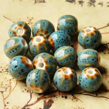 <b>12mm</b> Flower Glaze <b>Ceramic</b> Beads Watermelon Charm Diy ...