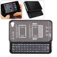 Unique Slide Style Bluetooth Keyboard Case with Build in Battery for ...