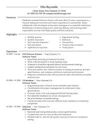testing professional resume pic software testing professional resume pic