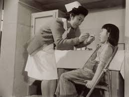 photo essay colorado s amache concentration camp densho dental check up ca 1942 1945 catherine ludy collection