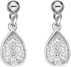 Купить Серебряные <b>серьги Hot Diamonds DE386</b> с ...