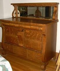 room servers buffets: tiger oak buffet with mirror and shelf tiger oak dining room server