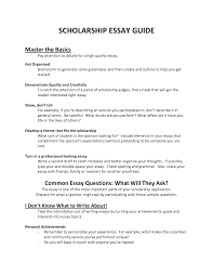 college scholarships essay examples how to write a scholarship essay scholarships and
