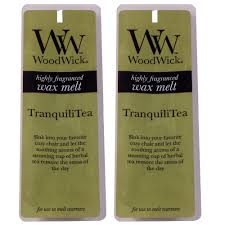 Woodwick Scented <b>Wax Melts</b> - Twin Pack (2 x 4 pack) -TranquiliTea ...